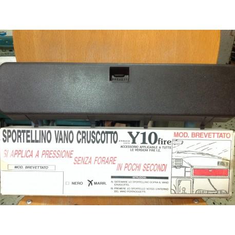 AUTOBIANCHI Y10, SPORTELLO VANO CRUSCOTTO NERO.
