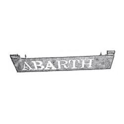 FIAT 500 F/L/R griglia alzacofano post abarth