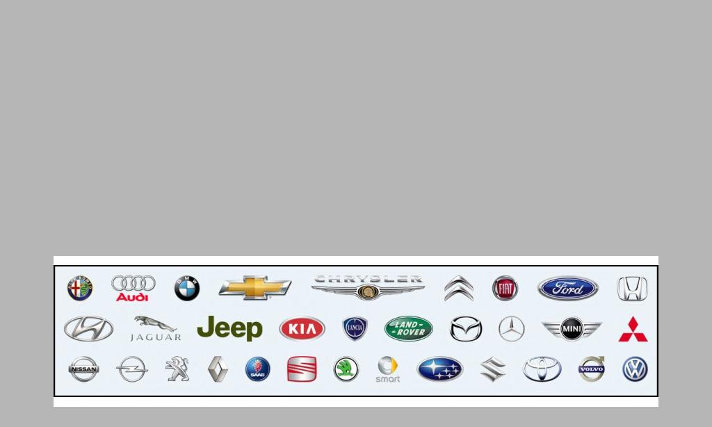 Ricambi per i principali marchi automobilistici